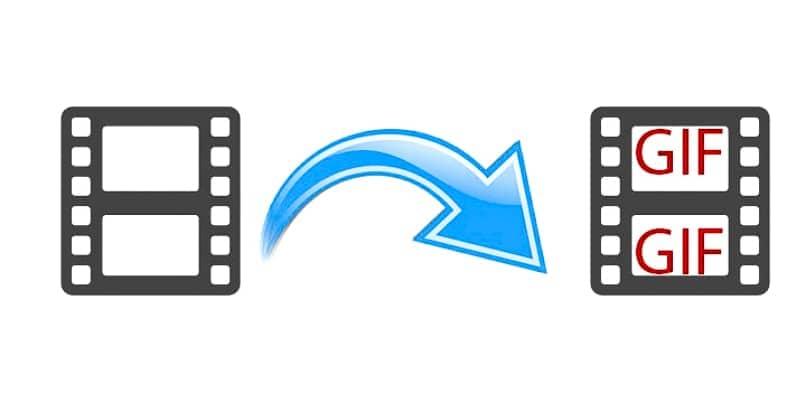 convertir tus videos grabados o tomados con la camara a gif