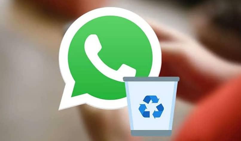 mensajes, archivos, chats y grupos eliminados en whatsapp
