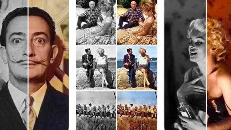 metodo para restaurar color en fotos viejas